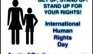International Human Rights Day, December 10th